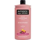 Authentic Toya Aróma Cranberries & Nectarine tekuté mydlo náhradná náplň 600 ml