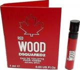 Dsquared2 Red Wood toaletná voda pre ženy 1 ml s rozprašovačom, vialka