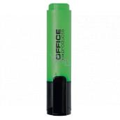 Office Zvýrazňovač šírka stopy 2 - 5 mm zelený
