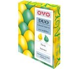 Ovo Tekuté farby duo Zelená / Žltá 2 farby á 20 ml: 1 sáčok (20 ml)