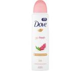 Dove Go Fresh Granátové jablko & Verbena antiperspirant dezodorant sprej pre ženy 150 ml