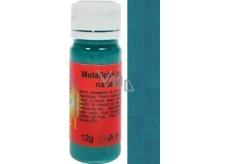 Art e Miss Farba na svetlý i tmavý textil 32 metalická tyrkysová 12 g