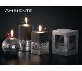 Lima Ambiente svíčka černá koule 100 mm 1 kus