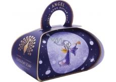 English Soap Anjel Prírodné parfumované toaletné mydlo s bambuckým maslom 260 g