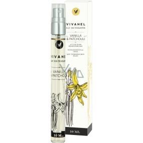 Vivian Gray Vivanel Vanilla & Patchouli luxusné toaletná voda s esenciálnymi olejmi pre ženy 10 ml