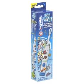 Spinbrush My Way Boys dětský zubní kartáček pro chlapce