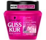 Gliss Kur Supreme Length regenerační maska pro dlouhé vlasy náchylné k poškození a roztřepeným konečkům 300 ml