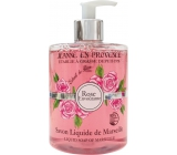 Jeanne en Provence Rose Envoutante - Podmanivá ruže umývací gél na ruky 500 ml