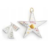 English Tea Shop Bio Hviezda Sladký vanilkový chlebíček + Pikantné zmes + Biely čaj, lychee, kakao + Slávny deň + Šťastné Vianoce + Ovocný pikantné koláč, 6 kusov pyramídiek sypaného čaju, 12 g, darčeková sada na zavesenie