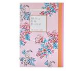 Heathcote & Ivory Pinks & Pear Blossom parfumovaný papier 5 hárkov