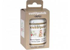 Apli Cut & Patch krycí lak / lepidlo na servítkovou metódu transparentný 100 ml