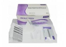 Realy Tech Novel Coronavirus SARS-CoV-2 Antigén Rapid Test Device saliva rýchlotest na koronavírus zo slín 5 ks