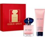 Giorgio Armani My Way parfumovaná voda pre ženy 30 ml + telové mlieko 75 ml, darčeková sada