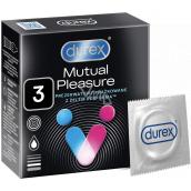 Durex Mutual Pleasure vrúbkovaný kondóm s výstupkami, nominálna šírka: 56 mm 3 kusy