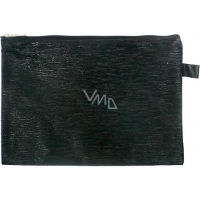 Abella Toaletná kabelka čierna 70390-A 24,5 x 17 x 0,5 cm 1 kus