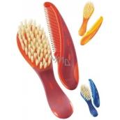 Nuk Hřebínek a kartáček na vlasy pro děti různé barvy 2 kusy