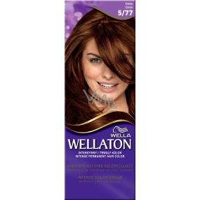 Wella Wellaton Intense Color Cream krémová farba na vlasy 5/77 kakaová