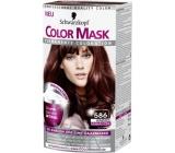 Schwarzkopf Color Mask barva na vlasy 586 Mahagonově červený