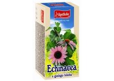 Apotheke Echinacea s ginkgo biloba čaj pre prirodzenú obranyschopnosť, imunitný systém a normálnu funkciu dýchacieho systému 20 x 1,5 g
