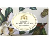 English Soap Vintage Jasmín Přírodní parfémované mýdlo s bambuckým máslem 200g