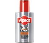 Alpecin Tuning Čierny kofeínový šampón proti vypadávaniu vlasov zafarbia šediny 200 ml