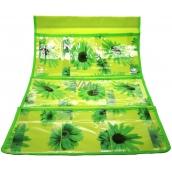 Vreckár na zavesenie zelený 59 x 36 cm 3 vrecká 715