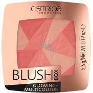 Catrice tvárenka Blush Box Žiariace + Multicolour 010