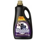 Woolite Dark Black & Denim tekutý prací prostriedok s keratínom na tmavé a čierne prádlo 60 dávok 3,6 l