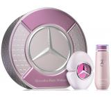 Mercedes-Benz Mercedes Benz Woman Eau de Parfum toaletná voda pre ženy 90 ml + telové mlieko 125 ml, darčeková sada