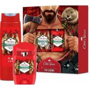 Old Spice BearGlove Lumberjack antiperspirant dezodorant stick 50 ml + 2v1 sprchový gél na telo a vlasy 250 ml, kozmetická sada pre mužov