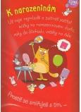 Albi Hracie prianie do obálky K narodeninám V Blbý veku Xindl X 14,8 x 21 cm