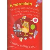 Albi Hrací přání do obálky K narozeninám V blbym věku Xindl X 14,8 x 21 cm