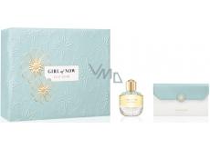 Elie Saab Girl of Now parfémovaná voda pro ženy 50 ml + etue, dárková sada