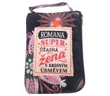 Albi Skladacia taška na zips do kabelky s menom Romana 42 x 41 x 11 cm