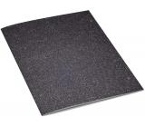 Ditipo Zošit Glitter Collection A4 linajkový čiernostrieborný 21 x 29 cm 3424002