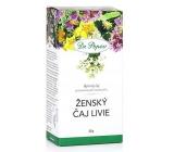 Dr. Popov Ženský čaj Livie bylinný čaj pre hormonálnu rovnováhu 50 g