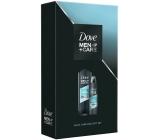 Dove Men + Care Clean Comfort sprchový gél na telo a tvár pre mužov 400 ml + antiperspirant dezodorant sprej pre mužov 150 ml, kozmetická sada