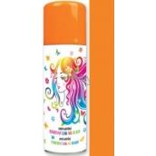 Anjel zmývateľné farebný lak na vlasy oranžový 125 ml