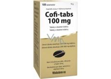 Vitabalans Coffe Tabs tablety s obsahom kofeínu pre nabudenie a stimuláciu organizmu 100 tabliet