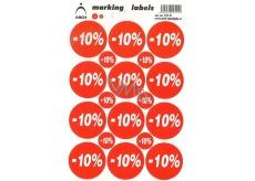Arch Zľavové etikety -10% 251-R