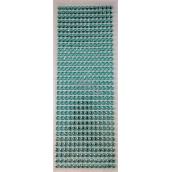 Albi Samolepiace kamienky svetlo modrej 5 mm 462 kusov